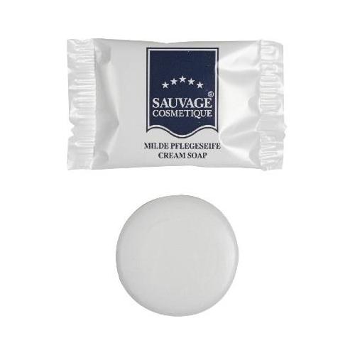 Sauvage Cosmetique Cremeseife 12 g, in Folie | 200 Stück