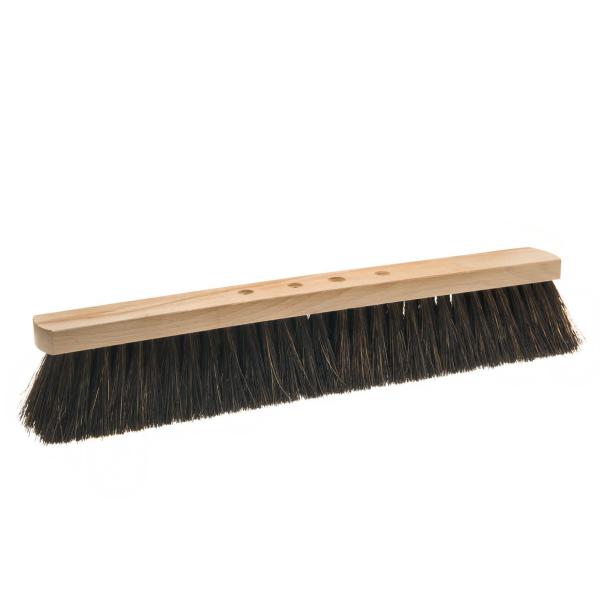 Arengasaalbesen 50 cm, Körper: Holz unlackiert, Borsten: Arenga | 4-Loch-System