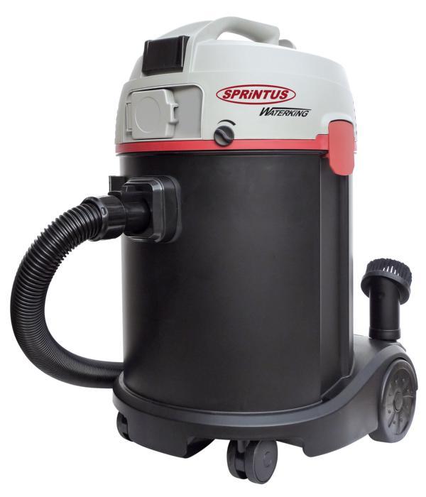 Nass-/Trockensauger Sprintus N 30/1 KS Waterking   46 x 38 x 59cm   30 Liter Behältervolumen