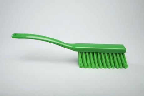 Hygiene - Handfeger 34 cm grün | Borsten: Polyester PBT 0,30, Körper: Kunststoff