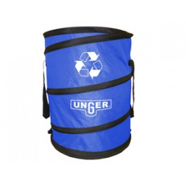 "Abfallbehälter ""NiftyNabber Bagger"", 180 Liter | blau NB30B  | faltbarer Müllbehälter, z.Bsp. für Gartenabfälle"