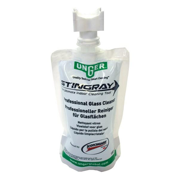 Stingray Glasreiniger   150 ml  SRL01   Qualitäts-Glasreiniger von 3m Scotchgard™ für Artikel 68697 + 68698