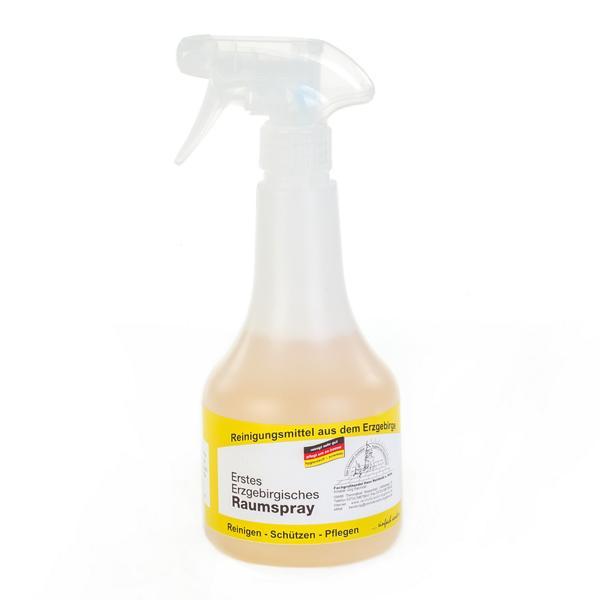 Erstes Erzgebirgisches Raumspray |  500 ml | Sprühflasche mit erfrischendem Desodorant auf Wasserbasis