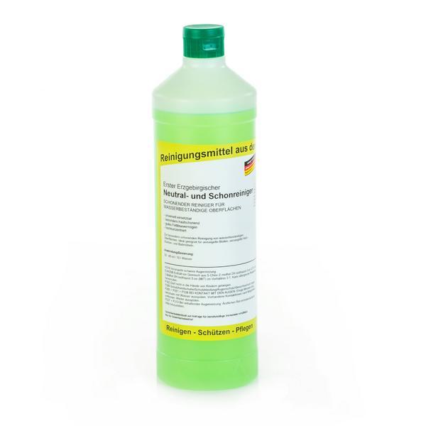 Erster Erzgebirgischer Neutral- und Schonreiniger |  1 Liter  | schonender Reiniger für wasserbeständige Oberflächen