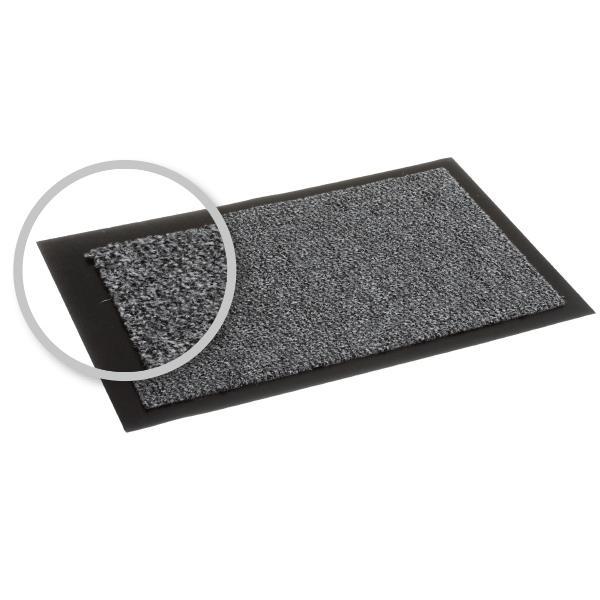 Schmutzfangmatte 120 x 180 cm | Farbe: grau meliert