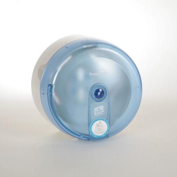 Toilettenpapier-Einzelblatt-Spender SmartOne   blau   Pfand für die kostenlose Überlassung