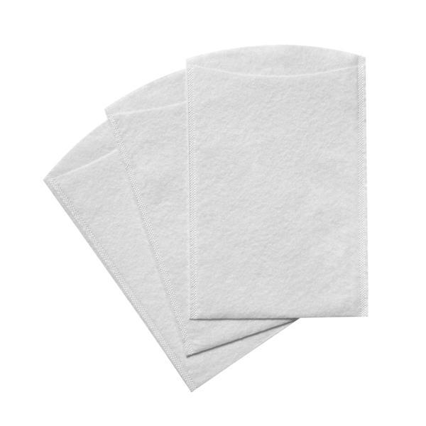 Einweg-Waschhandschuhe verschweißt TEMDEX Molton 60 g/m²  | 2000 Stück  | hochweiß, 1-lagig, 230 × 150 mm