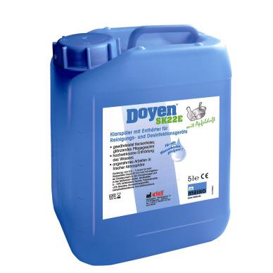 etol® Doyen SK 22 E mit Apfelduft   5 Liter    Klarspüler und Enthärter für Steckbeckenautomaten, leicht sauer