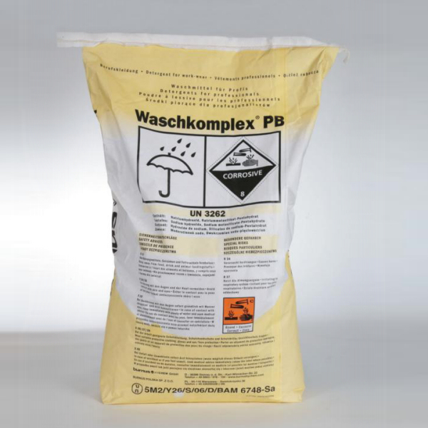 Waschkomplex PB für Berufsbekleidung 60 - 70°C | 25 kg