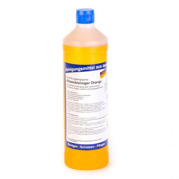 Erster Erzgebirgischer Allzweckreiniger Orange | 1 Liter | für alle wasserfesten Oberflächen, Böden und Einrichtungsgegenstände