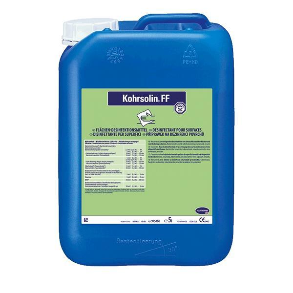 Kohrsolin FF | 5 Liter  | aldehydhaltiger Flächendesinfektionsreiniger, formaldehydfrei