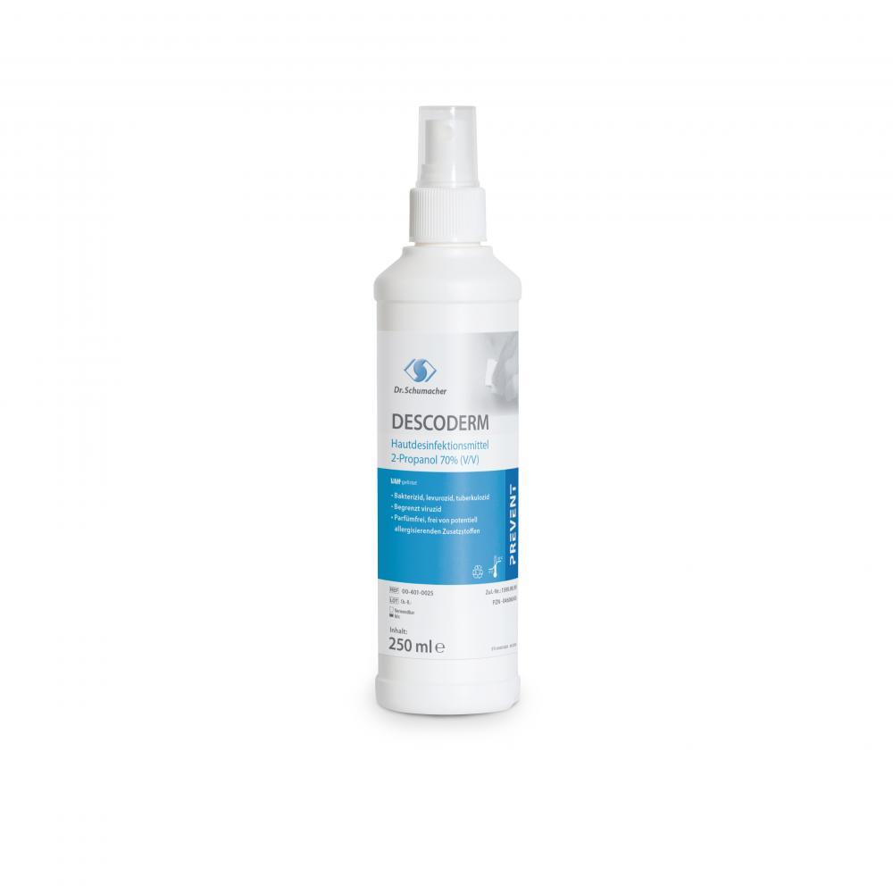 DESCODERM   250 ml Sprühflasche   alkoholisches Hände- und Hautdesinfektionsmittel