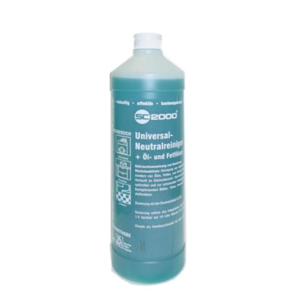 R20 SC2000 Universal-Neutralreiniger + Öl- und Fettlöser | 1 Liter | sehr ergibiges Vollkonzentrat