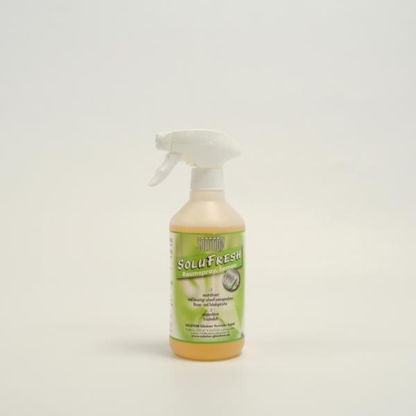 SOLUFRESH Raum-Tabak, Raumspray, Lemon |  500 ml