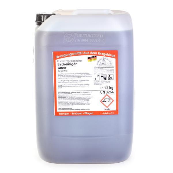 Erster Erzgebirgischer Badreiniger sauer | 12 kg | Spezialreiniger für den gesamten Bad- und Sanitärbereich