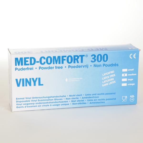 Einweghandschuhe Vinyl, puderfrei, 30 cm lang   100 Stück/Box    nicht steril, AQL 1,5, Größe S, M, L, XL