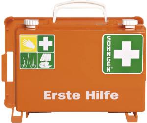 Söhngen® Erste Hilfe-Koffer Quick-CD Norm Orange | Füllung Norm nach DIN 13157