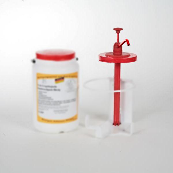 Dosierpumpe für 3-Liter-Weithalsgebinde (Artikel 36923)   Kunststoff