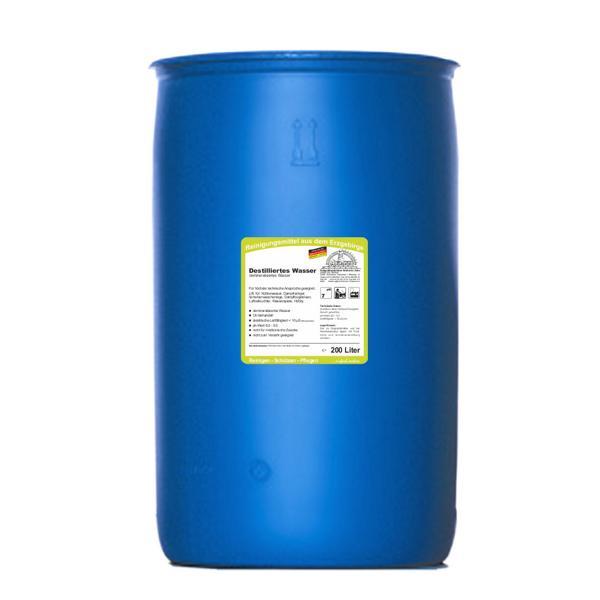 Destilliertes Wasser | 200 Liter  | (+Pfandgebühr Artikel 99970)