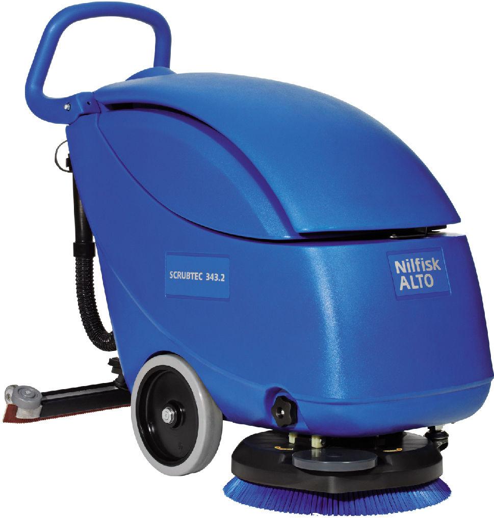Nilfisk® Batterie-Scheuersaugmaschine Alto Scrubtec 343 B Combi