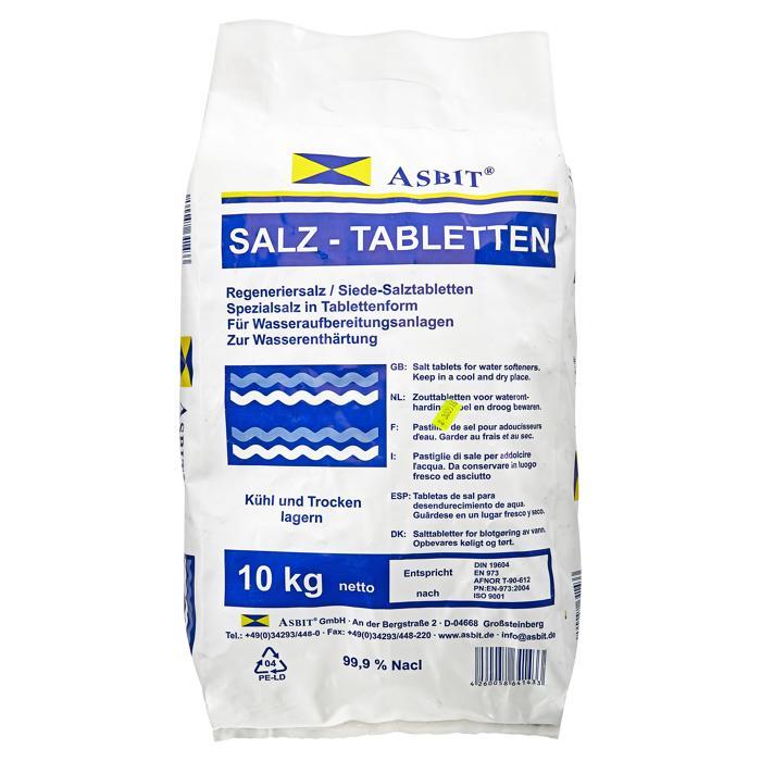 Regeneriersalz-Tabletten   für Wasserenthärtungsanlagen   10 kg