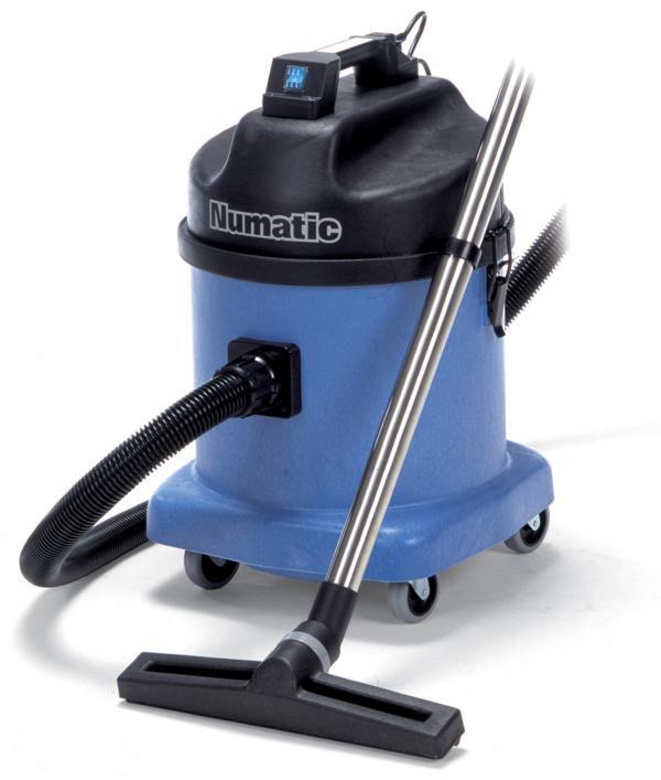 Numatic® Nass/Trockensauger WVD570-2 Wassersauger mit Zubehörset BS7, 2 Motoren