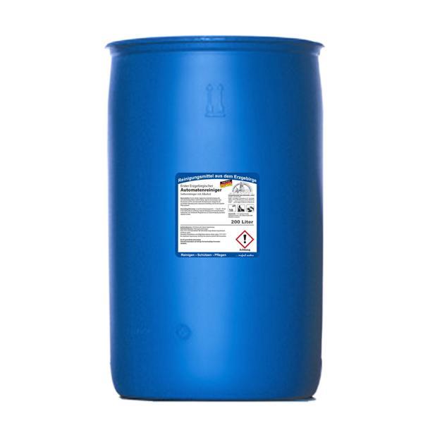 Erster Erzgebirgischer Automatenreiniger | 200 Liter | Seifenreiniger mit Alkohol für die maschinelle Reinigung großer, wasserbeständiger Flächen (+Pfandgebühr Artikel 99970)