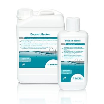 Decalcit Becken Poolreiniger I 1 Liter | Reinigungsgel zur Entfernung von Kalkablagerungen an Poolwänden und -böden