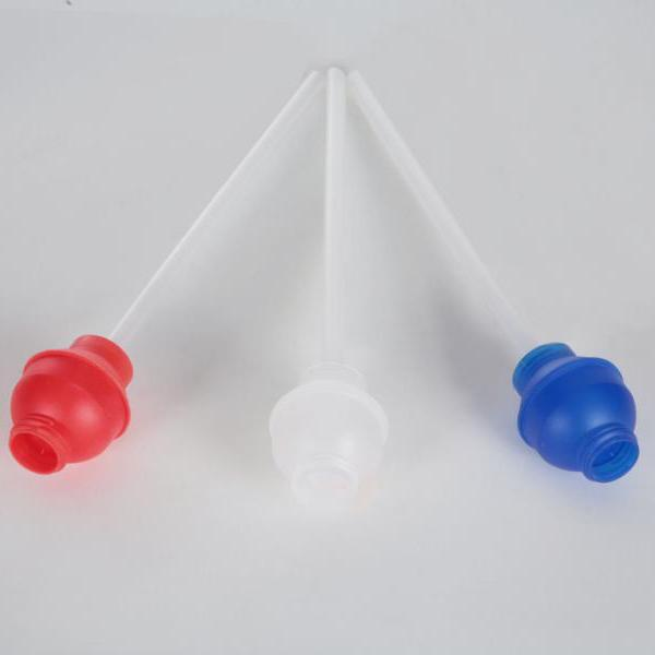 Dosieraufsatz für 1-Liter-Flaschen, Dosierierung 50 ml, H629   transparente Dosierkugel, passend für Leerflasche/Zylinderflasche (99023)