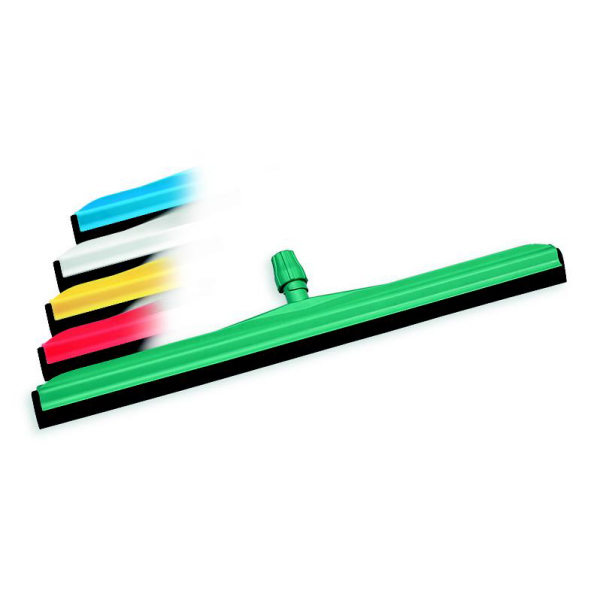 Moosgummiwischer/Wasserschieber/Bodenwischer 55 cm, doppelt, Kunststoffkörper   weißer Gummi    passender Stiel Artikel: 34038, 57516, 68775