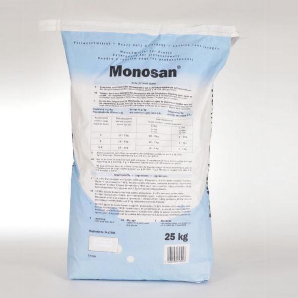 MONOSAN® | 20 kg | Desinfektionswaschmittel phosphathaltig, chemo-thermisches Desinfektion ab 60°C, RKI(A+B)-gelistet | BIOZIDE SICHER VERWENDEN! Vor Gebrauch stets Kennzeichnung und Produktinformation lesen!