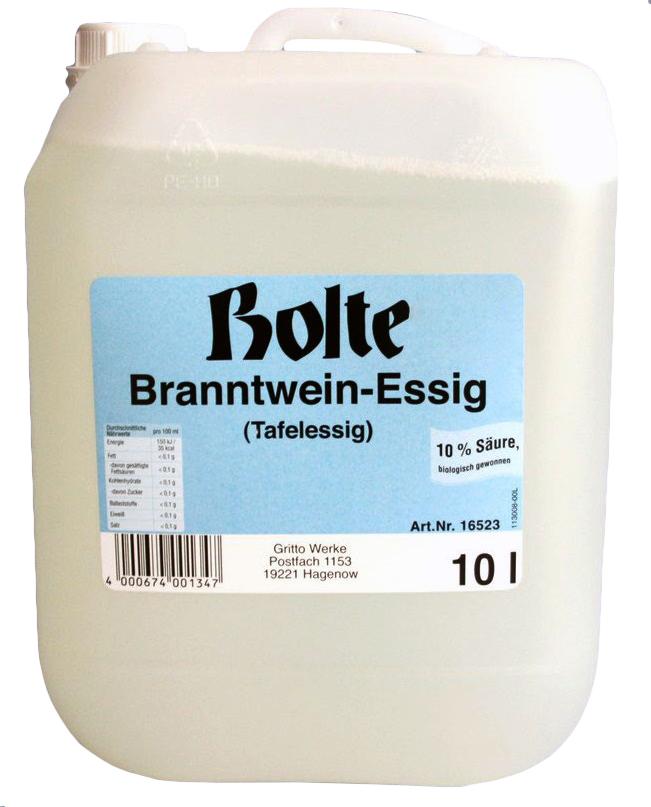 Bolte Branntwein-Essig | 10 Liter