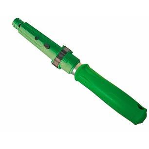 Unger® Ergo Griff-Verlängerung für alle Wischer, Wasserabzieher  und Einwascher | HH000 | Extra 15 cm Reichweite bei der Glasreinigung