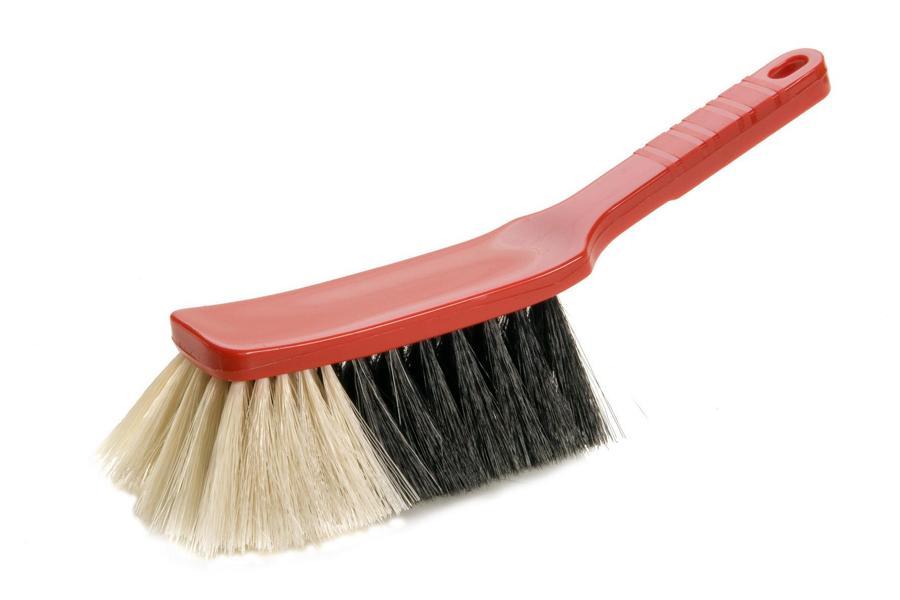 Handfeger 28 cm, Borsten: Propyl-Haar-Mischung, Körper: Kunststoff farbig