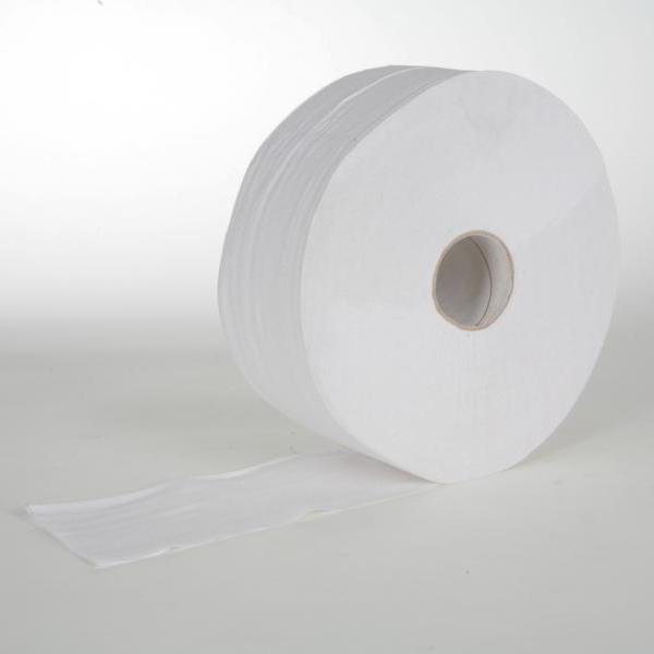 """Toilettenpapier Großrolle 2-lagig, T-75 weiß, 300 m, perforiert, """"Multi-Rolle"""", 1670 Blatt/Rolle   6 Rollen/Sack   passend für Spender: 70153, 70138"""