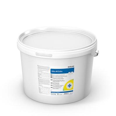 Eltra 40 Extra | 8,3 kg  | Desinfektionswaschmittel ab 40°C, Listung beantragt für die chemothermische Wäschedesinfektion bei 40°C gemäß RKI und VAH/DGHM | Desinfektionsmittel sicher verwenden. Vor Gebrauch stets Kennzeichnung und Produktinformationen les