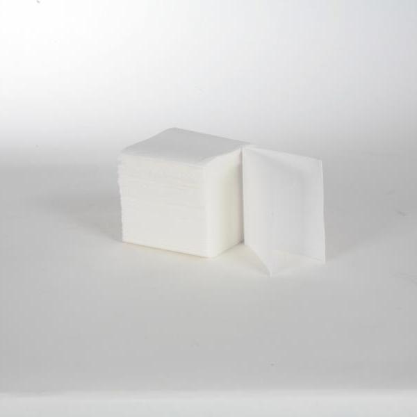 Toilettenpapier Einzelblatt 2-lagig, 100% Zellstoff weiß, 11,0 cm x 18,0 cm, 36 x 250 Blatt | 9.000 Blatt/Karton