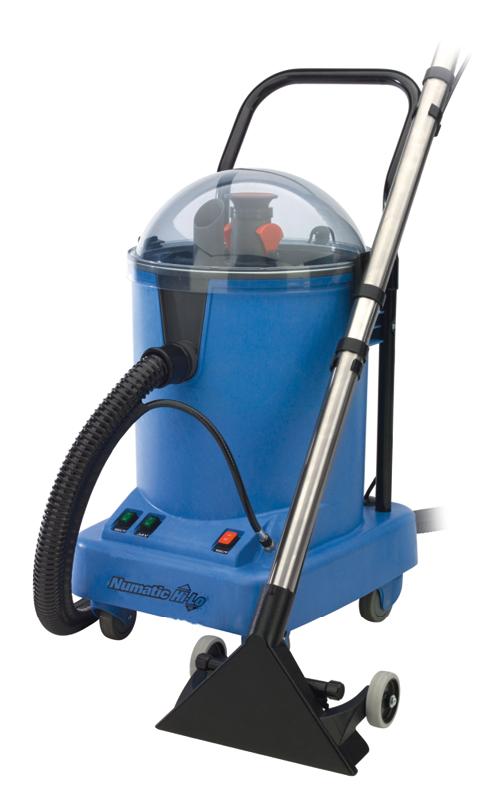 Numatic® Sprühextraktionsgerät HL15 Behälter 15 Liter, Bodendüse mit 3 Sprühdüsen