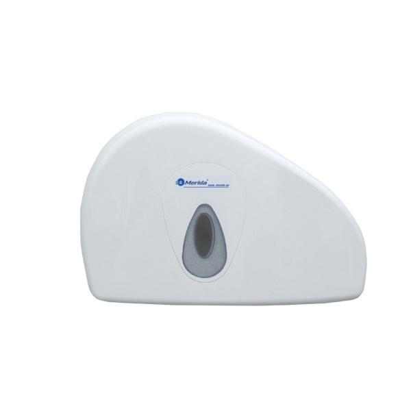 Toilettenpapier-Großrollen-Spender Merida Top Duo Mini   weiß/grau   passend zu Art. A10047