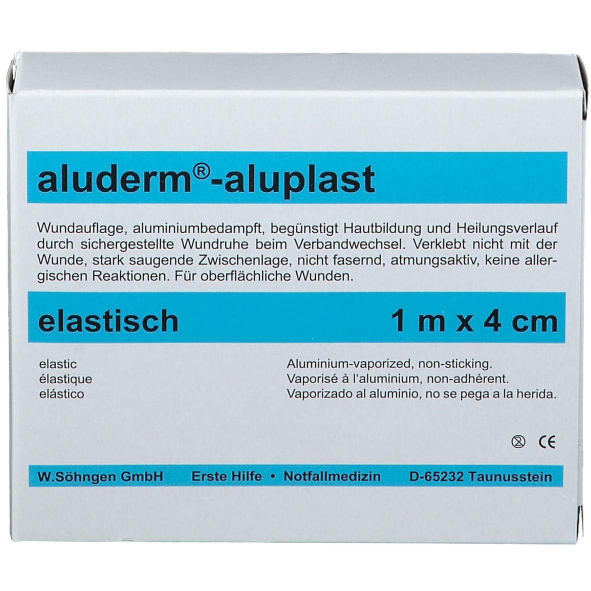 Söhngen® aluderm®-aluplast elastisches Pflaster | 1 m x 4 cm