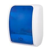 Rollenhandtuchspender Cosmos 4200 Sensor | blau/weiß | Sensormodus oder Automodus, abschließbar, ohne Netzteil