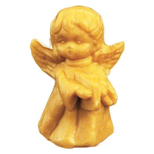 Duftseife Weihnachtsengel gold | 100 g | in Klarsichtfolie
