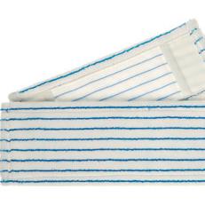 Mikro-Borstenmopp 50 cm | weiß/blau | Mikrofaser-Mopp mit eingearbeiteten Polyamid-Borsten, Aufnahme: Tasche