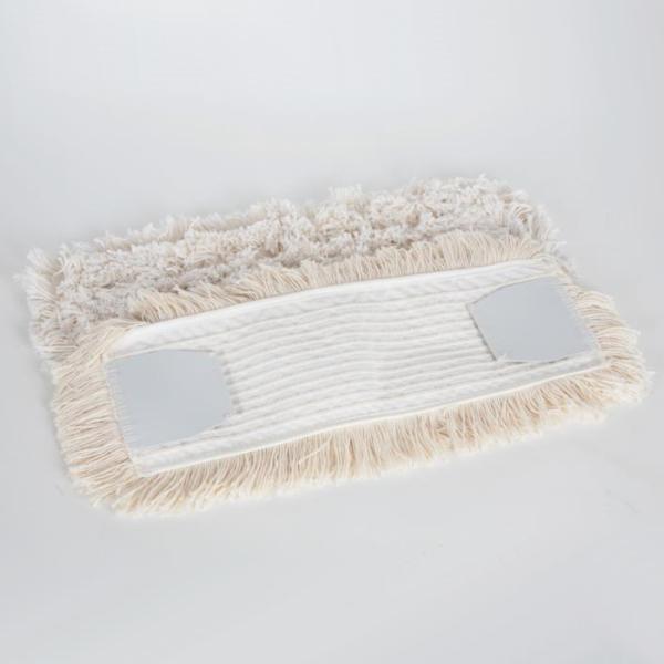 Fix topmop® 50 cm, Mopp mit Schlingen und Fransen | Material: Baumwolle, Aufnahme: PVC-Lasche