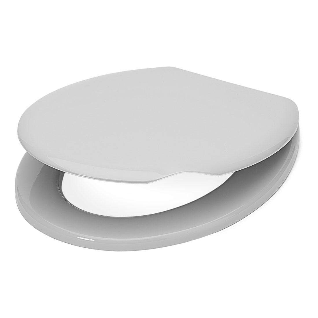 WC-Sitz, Kunststoff   weiß    Maße (H x B x T): 40 x 385 x 460 mm