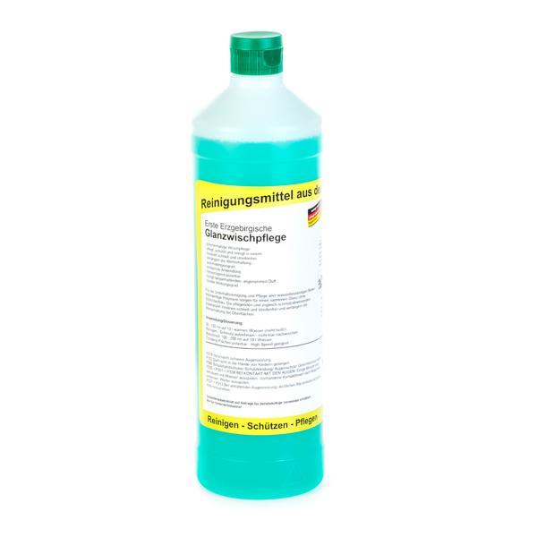Erste Erzgebirgische Glanzwischpflege | 1 Liter Rundflasche  | polymerhaltige Wischpflege mit Langzeitduft