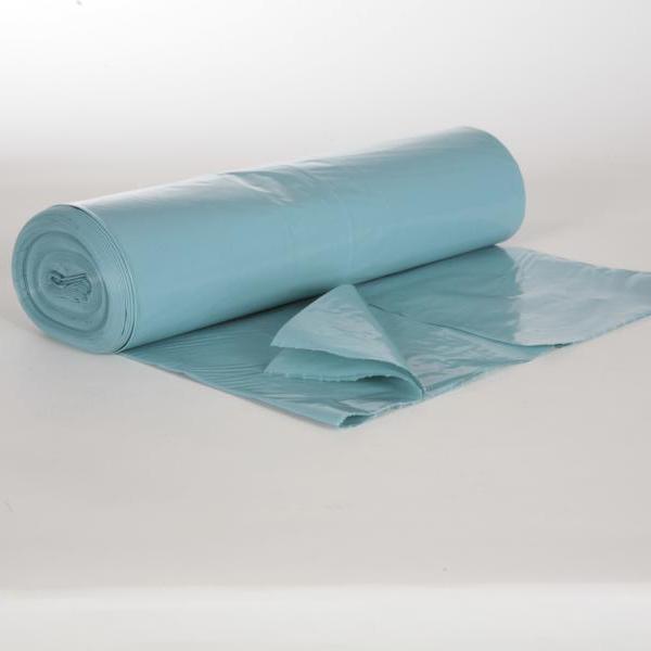 Müllsack  120 Liter, Typ100 blau LDPE , 700 x 1100 mm, ca. 67µ | 15 Stück/Rolle