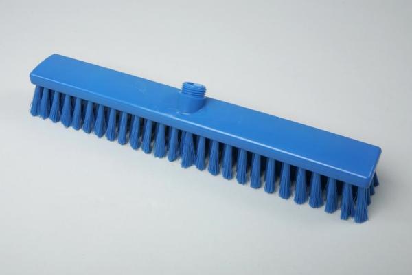 Hygiene - Besen 50 cm blau | Außengewinde mit Innensechskant | Temperaturbeständigkeit: -20°C bis +134°C