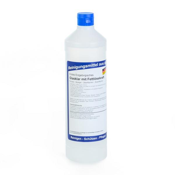 Erstes Erzgebirgisches Glasklar mit Fettlösekraft | 1 Liter