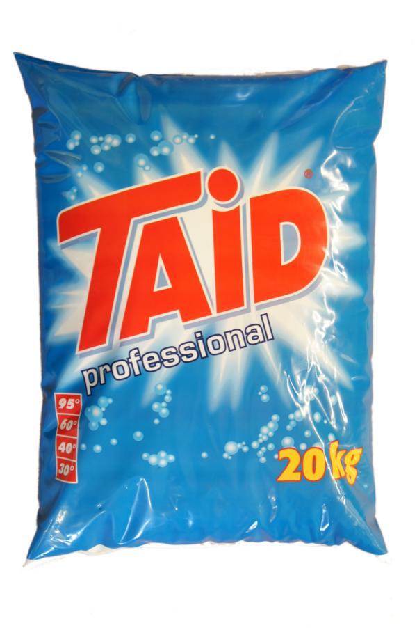 TAID professional | 20 kg  | Vollwaschmittel, phosphatfrei, bewährte und geprüfte Profiqualität